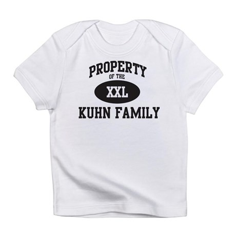 Property of Kuhn Family Infant T-Shirt