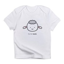 """L is for Lamb"" Infant T-Shirt"