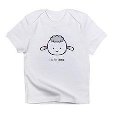"""L is for Lamb"" Infant T-Shirt"