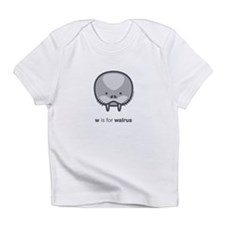 """W is for Walrus"" Infant T-Shirt"