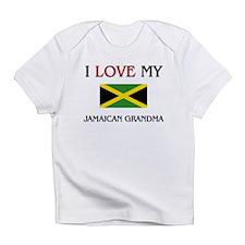 I Love My Jamaican Grandma Infant T-Shirt