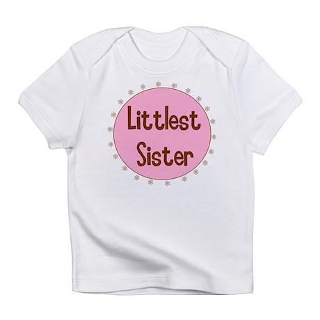 Littlest Sister Infant T-Shirt