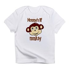 Mommy's lil monkey Infant T-Shirt