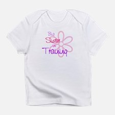 Big sister in training Infant T-Shirt