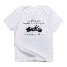 My grandpas motorcycle Infant T-Shirt