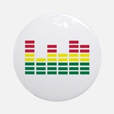 Equalizer Ornament (Round)