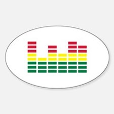 Equalizer Sticker (Oval)
