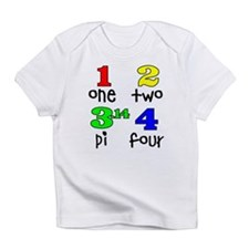 Numbers for Smart Babies Infant T-Shirt