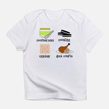 Snacks for Smart Babies Infant T-Shirt