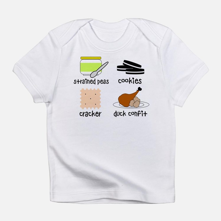 Snacks for Smart Babies Infant T-Shirt