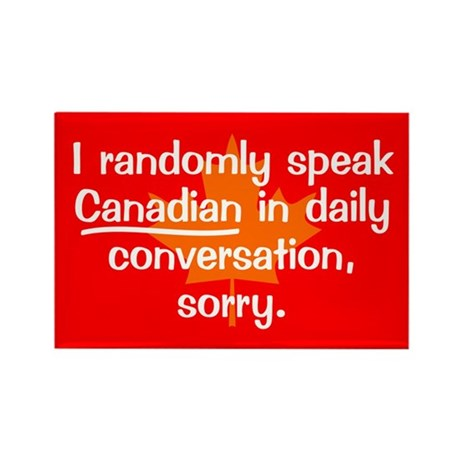 Random Canadian Rectangle Magnet