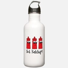 Funny Got Ketchup Water Bottle