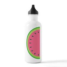Pink Watermelon Water Bottle