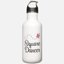 Cute Square Dancer Water Bottle
