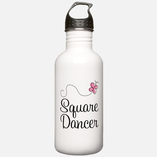 Cute Square Dancer Water Bottle