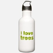 I Love Trees Water Bottle