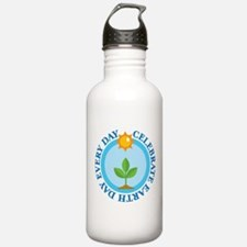 Celebrate Earth Day Water Bottle