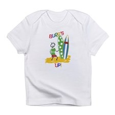 Burps Up Surfing Infant T-Shirt