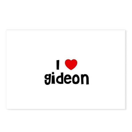 I * Gideon Postcards (Package of 8)
