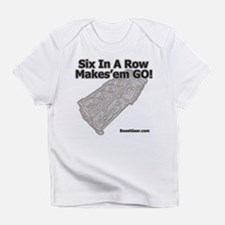 Six In A Row - Makes'em GO! - Infant T-Shirt