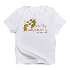 Tiny Carbon Footprint Infant T-Shirt