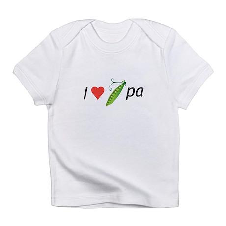 I love my pee-pa (grandpa) Infant T-Shirt