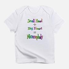 Small Head + Big heart Infant T-Shirt