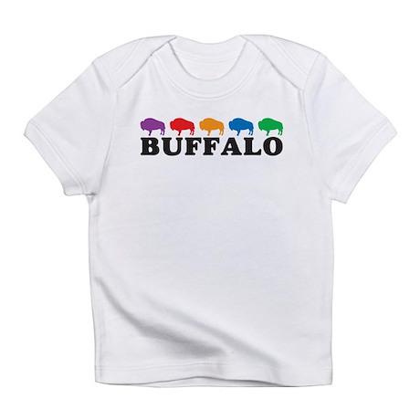 Colorful Buffalo Infant T-Shirt