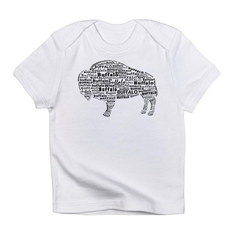 Buffalo Text Infant T-Shirt