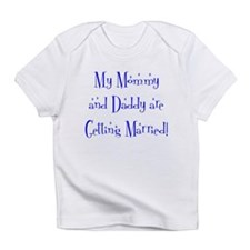 My Mommy and Daddy are Gett Infant T-Shirt