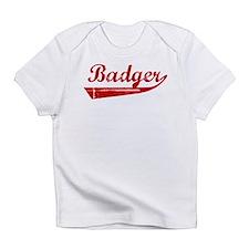 Badger (red vintage) Infant T-Shirt