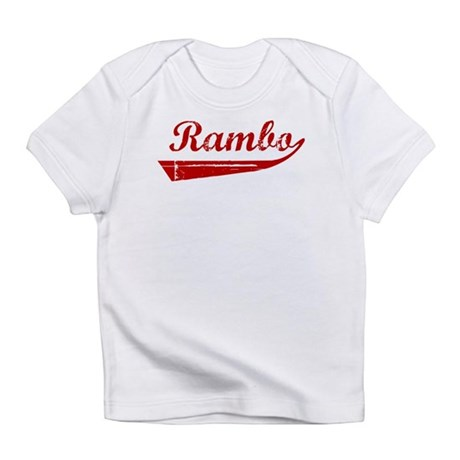 Rambo (red vintage) Infant T-Shirt