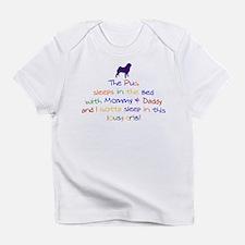 Pug - Lousy Crib! Infant T-Shirt