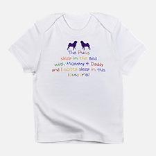 Pugs - Lousy Crib! Infant T-Shirt