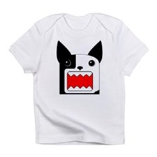 Boston Terrier Rawr Half White - Rightie Bo Infant