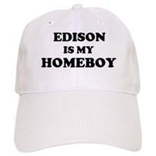 Edison Is My Homeboy Baseball Baseball Cap
