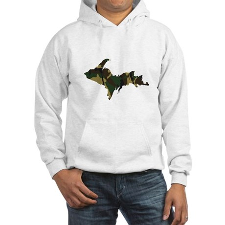 Woodland Camo U.P. Hooded Sweatshirt
