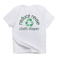 Recycle & Cloth Diaper - Infant T-Shirt