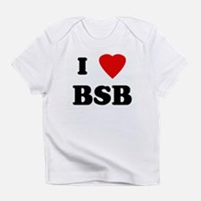 I Love BSB Infant T-Shirt