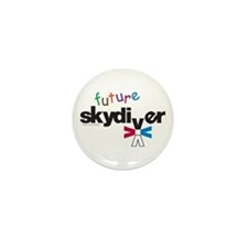 Future Skydiver Mini Button (100 pack)