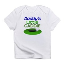 Daddy's Little Caddie Funny Golf Infant T-Shirt