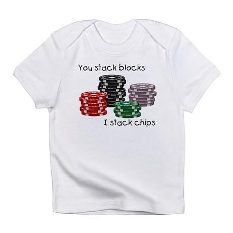 Stellar I stack, you stack Infant T-Shirt