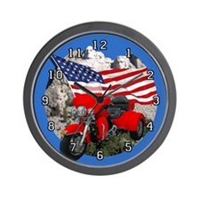 Rushmore Trike Wall Clock