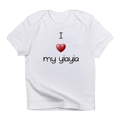 I Love my Yaiyai Infant T-Shirt