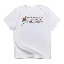 God Created Falconry Infant T-Shirt