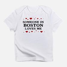 Loves Me in Boston Infant T-Shirt