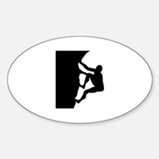 Climbing Sticker (Oval)