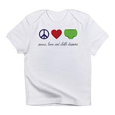 Unique Cloth diapering advocacy Infant T-Shirt