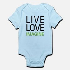 Live Love Imagine Infant Bodysuit