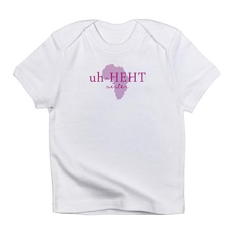 Amharic Sister Infant T-Shirt
